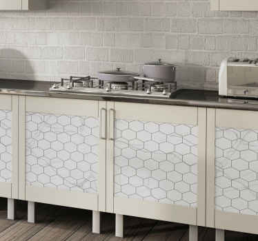 Cover the drawer space and cabinet in the home in our original decorative stone texture furniture sticker. It is made from quality vinyl.