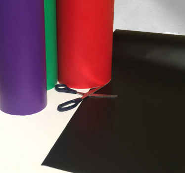 Piezas de vinilo colores