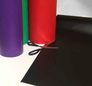 Einfarbiger Vinylaufkleber