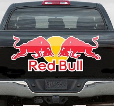 Sticker decorativo logo Red Bull