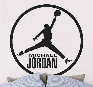 Adesivo murale Michael Jordan