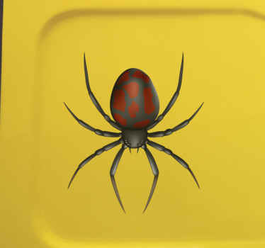 A 3d realistic spider sticker to decorate the surface of your vehicles and any other flat surface of choice. We have it in any size you would require.