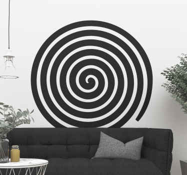 An abstract circle wall sticker to decorate your home space in a modern and stylish way. It is available in different sizes and colours.