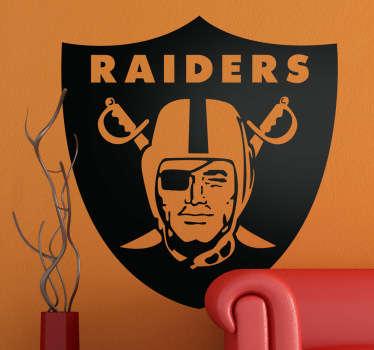 Sticker logo Oakland Raiders