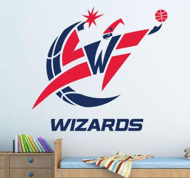 Naklejka dekoracyjna Washington Wizards