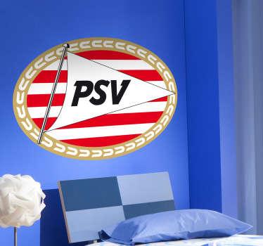 Tienerkamer muursticker PSV Eindhoven