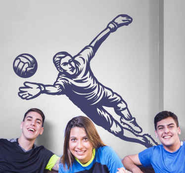 フットボール選手のシルエットの壁アートステッカー装飾。それは高品質のビニールで作られ、簡単に適用でき、さまざまなサイズで利用できます。