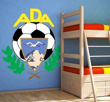 Sticker foot AD Alcorcón