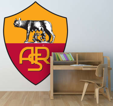 Sports Stickers -Italian football league team A.S. Roma.   Ideal for fans and sports-related organisations.