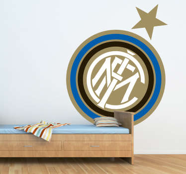 Inter Milan logo sticker