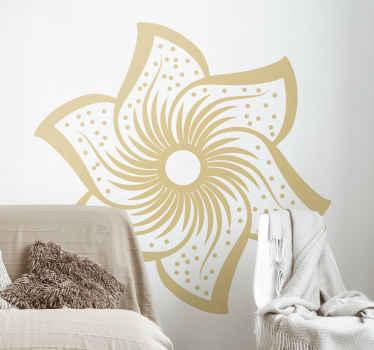 Embellece tu espacio con nuestro increíble vinilo de flores pared hecha con material de alta calidad. Elige color y tamaño ¡Envío a domicilio!