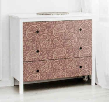 Pakeiskite savo baldų veidą originaliu dekoratyviniu gražiu dekoratyvinių baldų lipduku. Ją lengva įdiegti ir galima bet kokio dydžio.