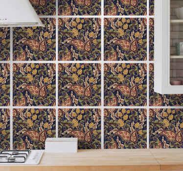 Decora azulejos adhesivos cocina o baño con ilustración vintage para que decores tu casa a tu propio estilo ¡Envío a domicilio!