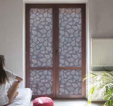 Breng een klassieke touch aan uw raamruimte in ons originele raamsticker gemaakt van hoogwaardig vinyl. Het is verkrijgbaar in elke gewenste maat.