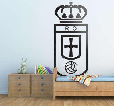 Vinilo decorativo Real Oviedo