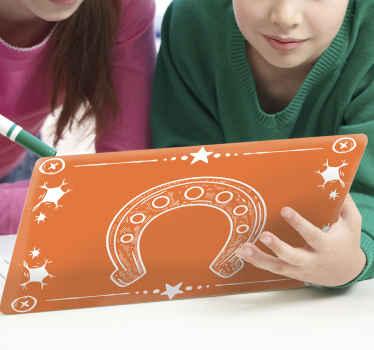 Hermosa skin para notebook o portátil de vaquero perfecta para decorar tu ordenador de forma original ¡Envío a domicilio!