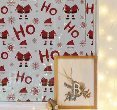 An ideal Christmas wall sticker recommended for children space, Also suitable for any other space as Christmas decoration.