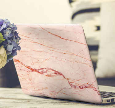Rose gold dream Marble laptop decal you would definitely love.  A fine textural Mable design for laptop made from high quality vinyl material.