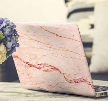 Ružové zlato sen mramor laptop obtisky, ktoré by ste určite radi. Jemný textúrový design pre laptop vyrobený z vysoko kvalitného vinylového materiálu.