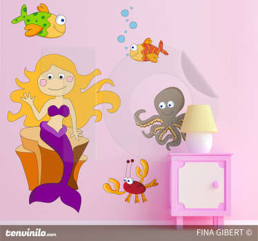 Under The Sea Decorative Decal