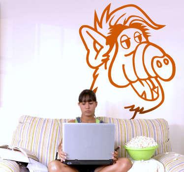 Sticker série Alf