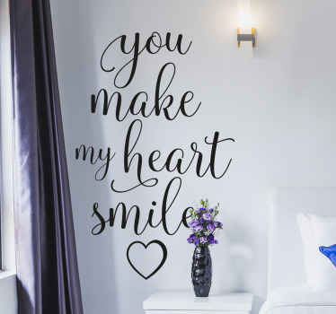 Lovely motivational quote decal for decoration of any flat surface. This design can be applied on any flat surface. Easy to apply and of high quality.