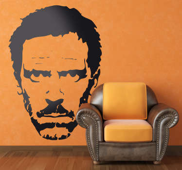 Sticker visage Dr House