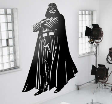 Sticker decorativo Darth Vader figura intera