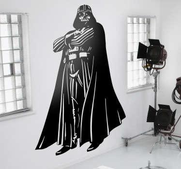 Sticker decorativo Darth Vader figura intera
