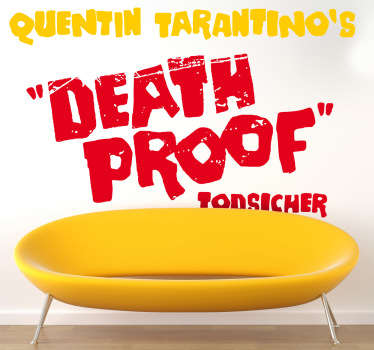 Sticker decorativo Death Proof