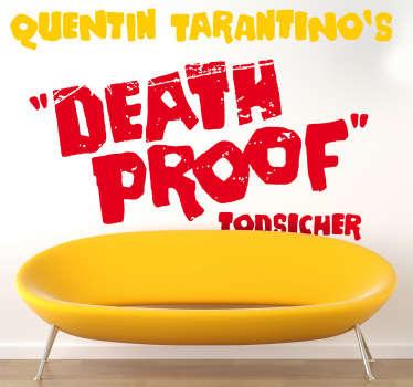 Sticker decorativo Death Proof