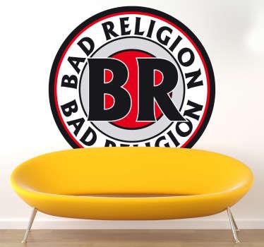 Naklejka dekoracyjna logo Bad Religion