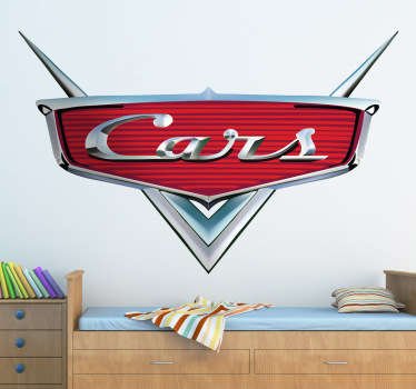 Vinilo decorativo logo Cars