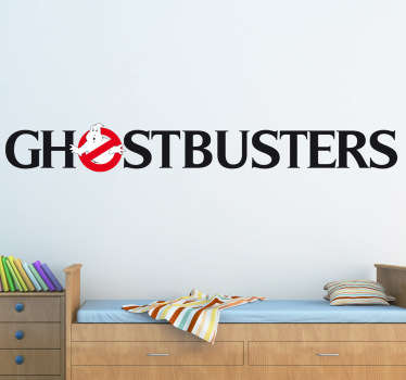 Sticker film logo Ghostbusters