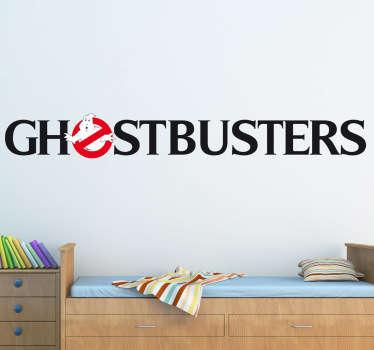 Ghostbusters Logo Aufkleber