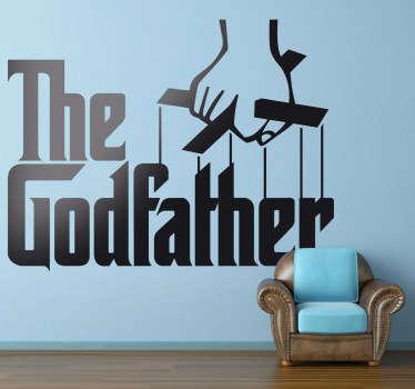 The God Father Logo Wall Sticker