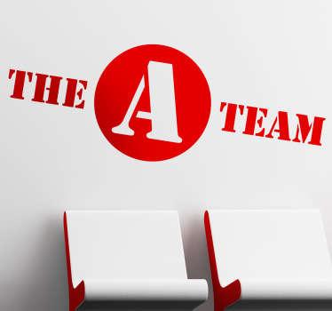 The A Team Movie Sticker