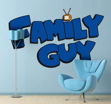 Sticker decorativo logo Family Guy
