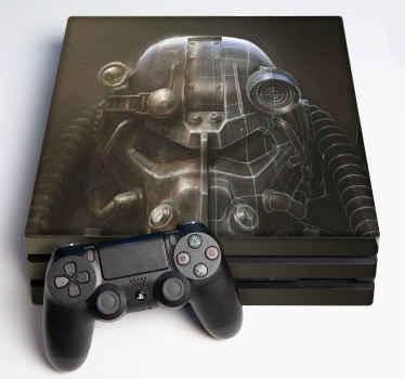 Dekoratívna nálepka pre spad playstation 4 pre hráčov, ktorí milujú apokalyptické hry a vzrušujú. Je vyrobený z vysoko kvalitného a ľahko sa nanáša.