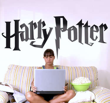 Naklejka na ścianę logo Harry Potter