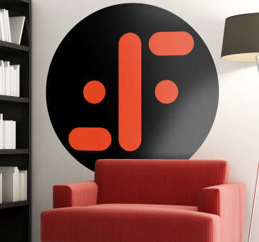 Naklejka dekoracyjna logo Lagartos V