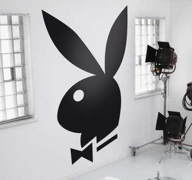 Naklejka dekoracyjna logo Playboy