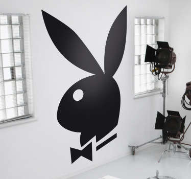 Vinilo decorativo logo Playboy