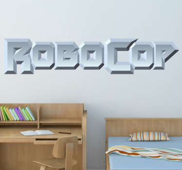 Sticker film logo Robocop