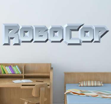 Vinilo decorativo logo Robocop