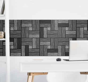 家庭、オフィス、その他の場所の平らな壁面を美しくするための灰色の不規則なパターンの壁の境界デカール。それはオリジナルで、粘着性があり、耐久性があります。