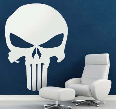 The Punisher Logo Wall Decal