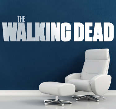 Vinilo decorativo logo Walking Dead