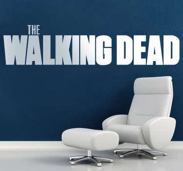 Vinilo decorativo logo Walking Dead