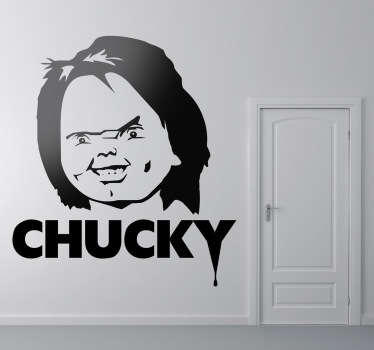 Sticker film chucky